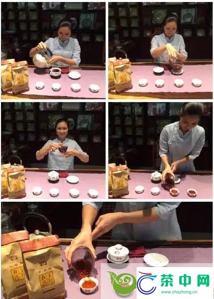 2005年大益金针白莲散熟茶开汤