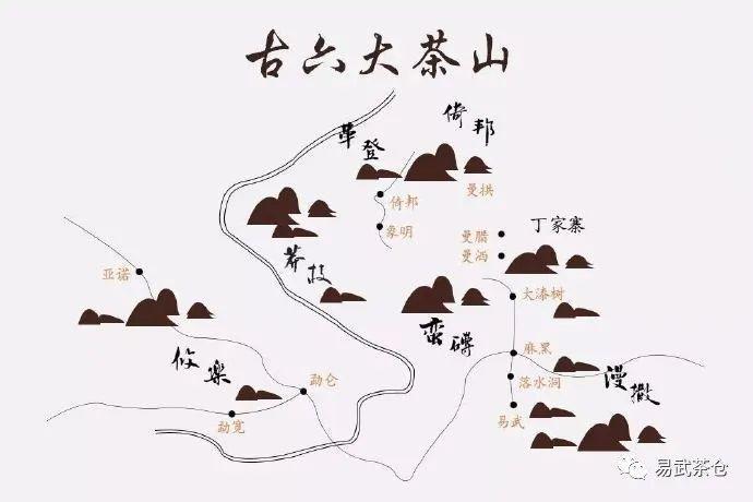 古六大山的传奇——易武古曼撒茶山