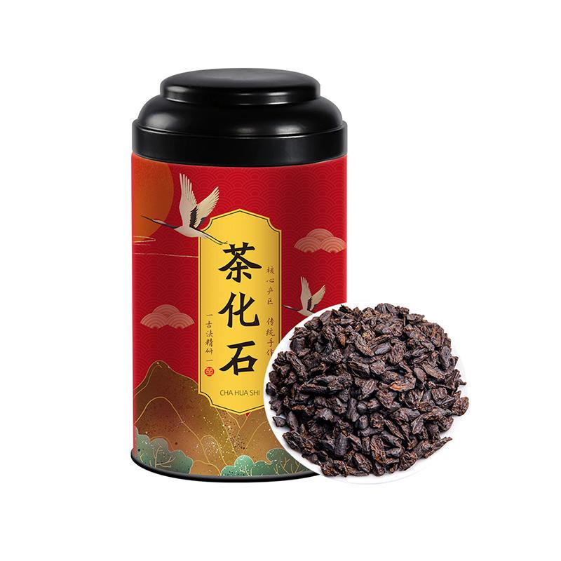 茶化石茶叶糯米香普洱茶熟茶古树老茶头散茶云南碎银子木冠罐装